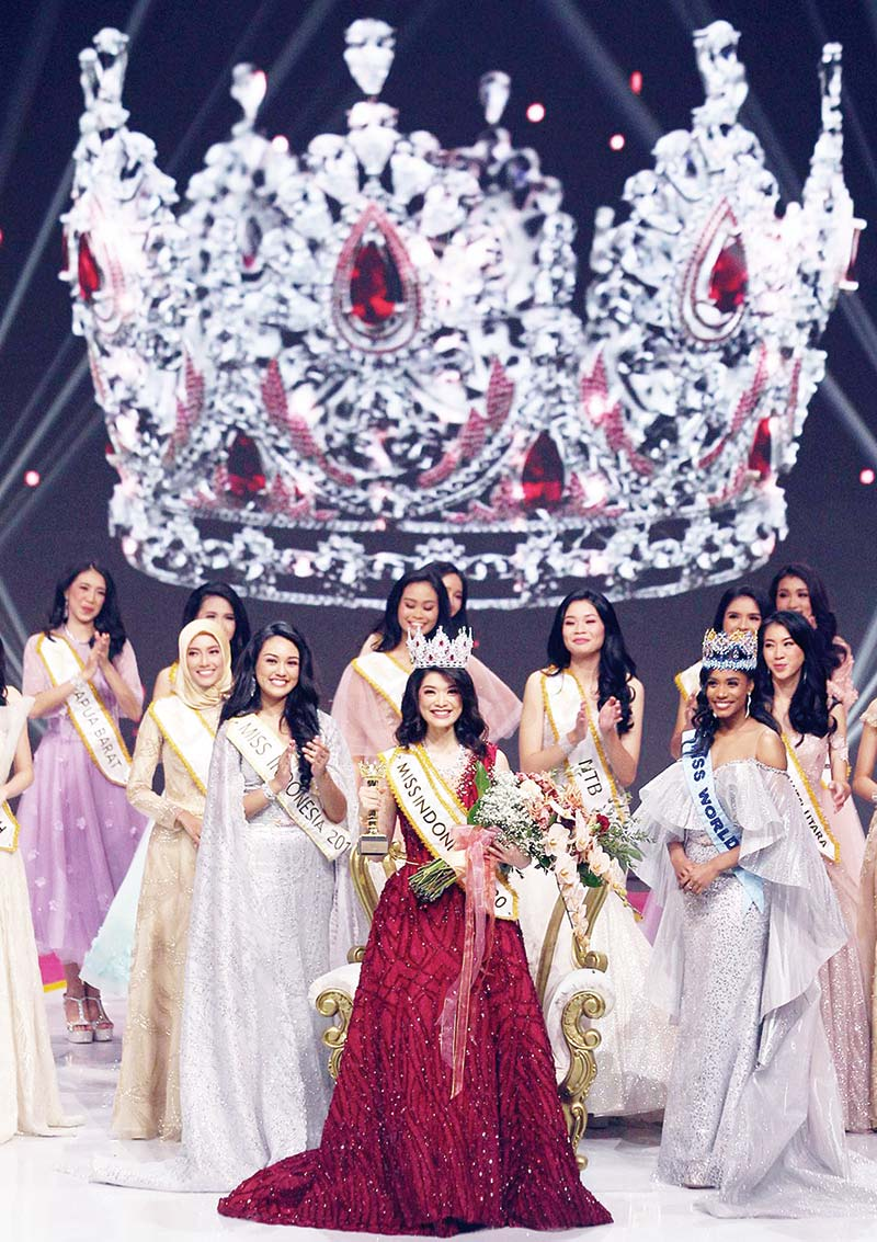 Dinobatkan Jadi Miss Indonesia 2020
