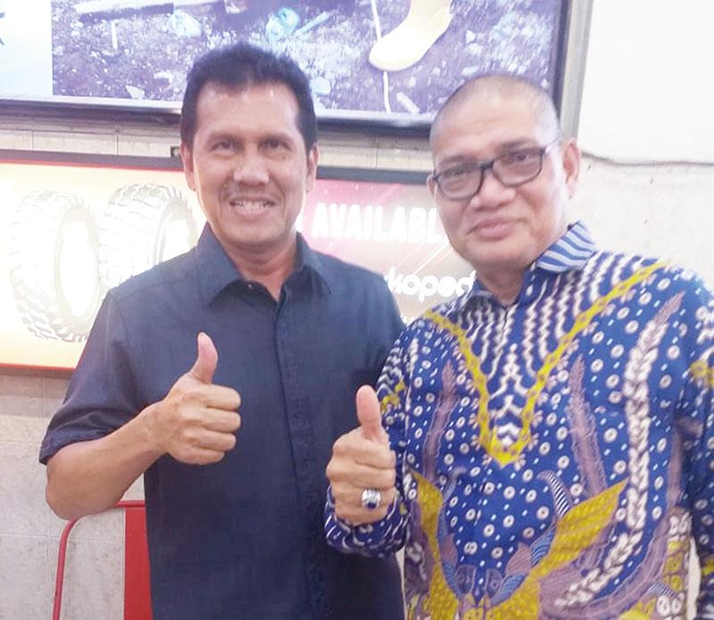 Safari Politik, Ridwan Yazid Jumpai Tokoh Parpol