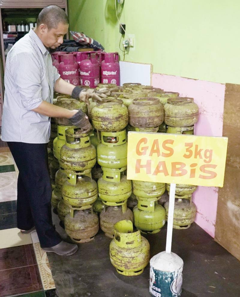 DPP Bakal Terapkan Daftar Warga Berhak Gunakan Elpiji 3 Kg