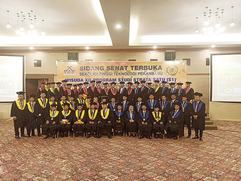 Luluskan 51 Wisudawan, STTP Gelar Sidang Senat Terbuka Wisuda XII
