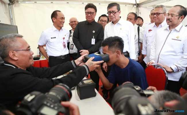 Pemilu, Tjahjo dan Yasonna  Sambangi Lapas Cipinang
