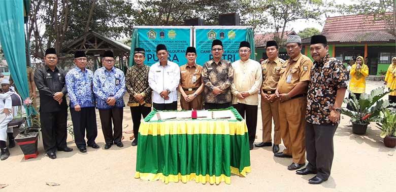 Sekda Kuansing Launching Program Camp Alquran
