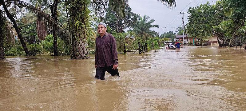 Balita Jadi Korban Banjir Kuansing
