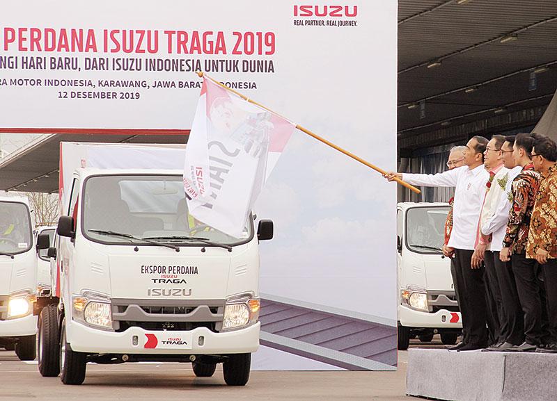 Isuzu Ekspor Perdana Traga ke Filipina