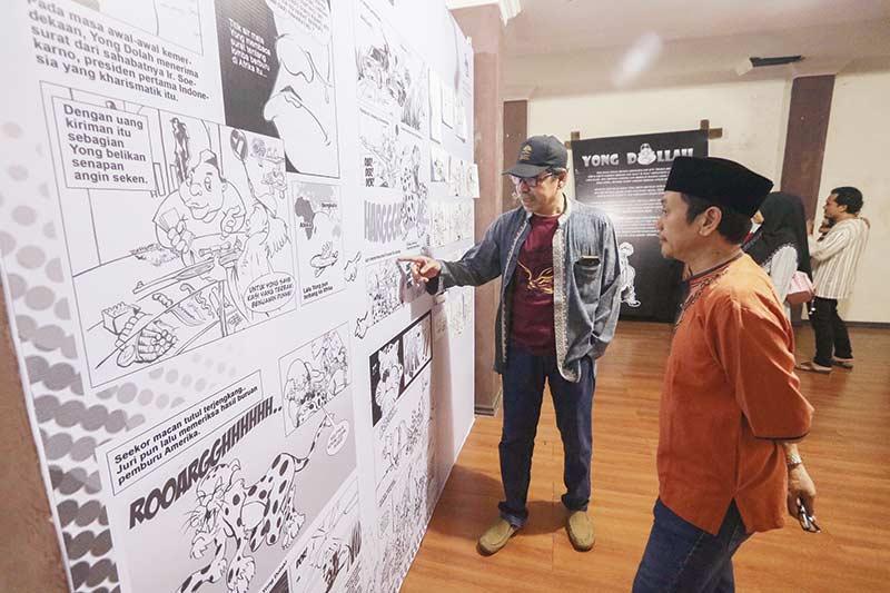 GHN Gelar Pameran Komik Yong Dolah selama Sebulan