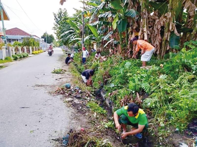 Masyarakat Goro Antisipasi Banjir
