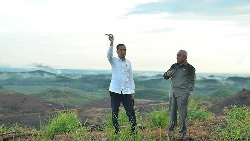 Perkiraan Jokowi Ibu Kota Baru Pakai APBN tak Lebih Rp100 Triliun