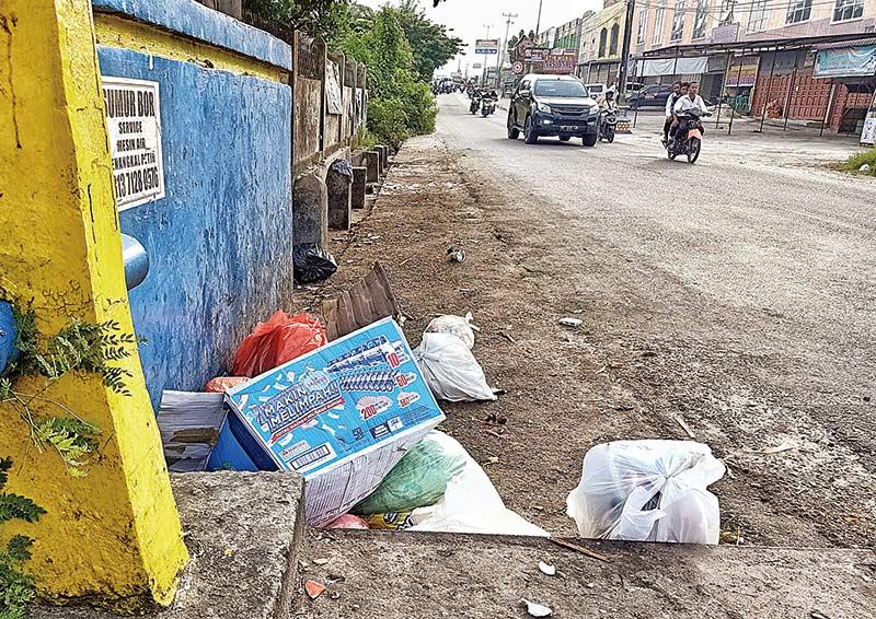 Pemko Kurang Serius Tangani Sampah