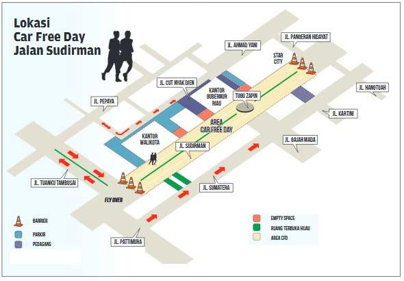 Besok, CFD Pindah Lokasi