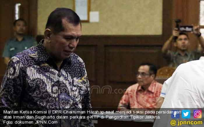 Mantan Anggota DPR Chaeruman Harahap Kembali Dipanggil KPK
