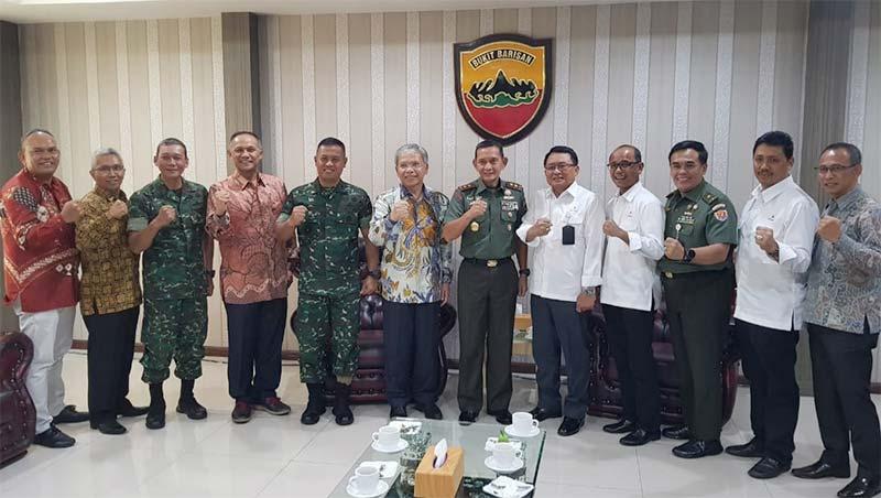 SKK Migas-CPI Jalin Kemitraan dengan Kodam I/Bukit Barisan