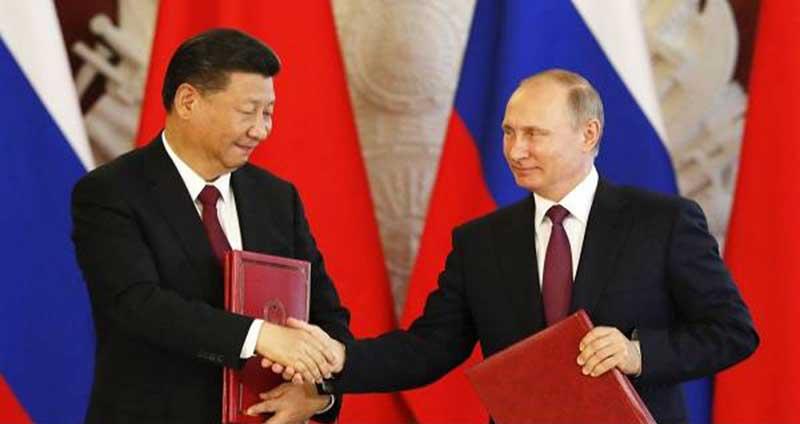 Rusia Bantu Tiongkok Bangun Sistem Pertahanan Supercanggih