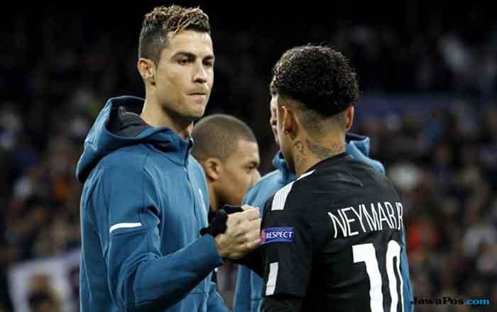 Real Madrid Dikabarkan Segera Boyon Neymar, CR7 Komentar Begini