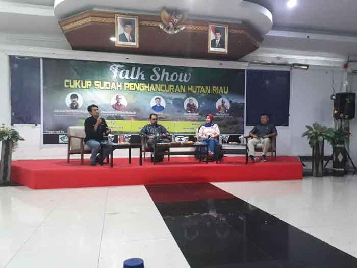 Talkshow EoF, Upaya Membumikan Semangat Pelestarian Lingkungan Hidup