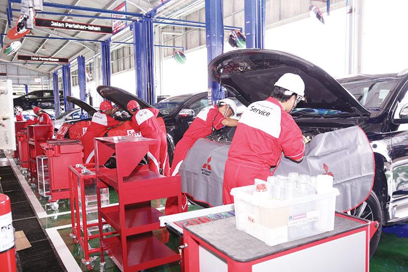 Mitsubishi Buka Servis Gratis 24 Jam