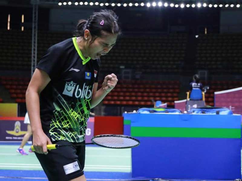 Gregoria Lolos ke Perempatfinal