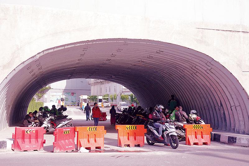 Akhirnya, Terowongan untuk Pejalan Kaki