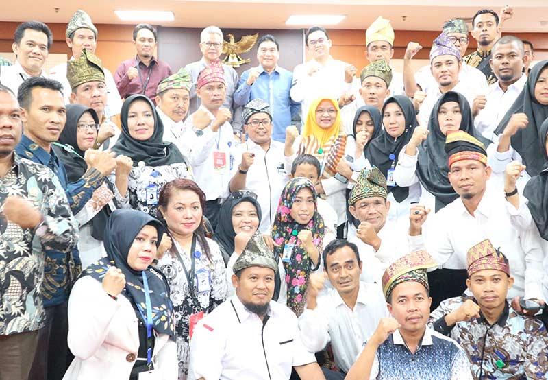 Minta Dukungan Diangkat Jadi PNS GTKHNK Mengadu ke DPR RI dan DPD