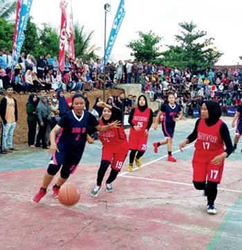 SMAN 1 Ujungbatu Melaju ke Final