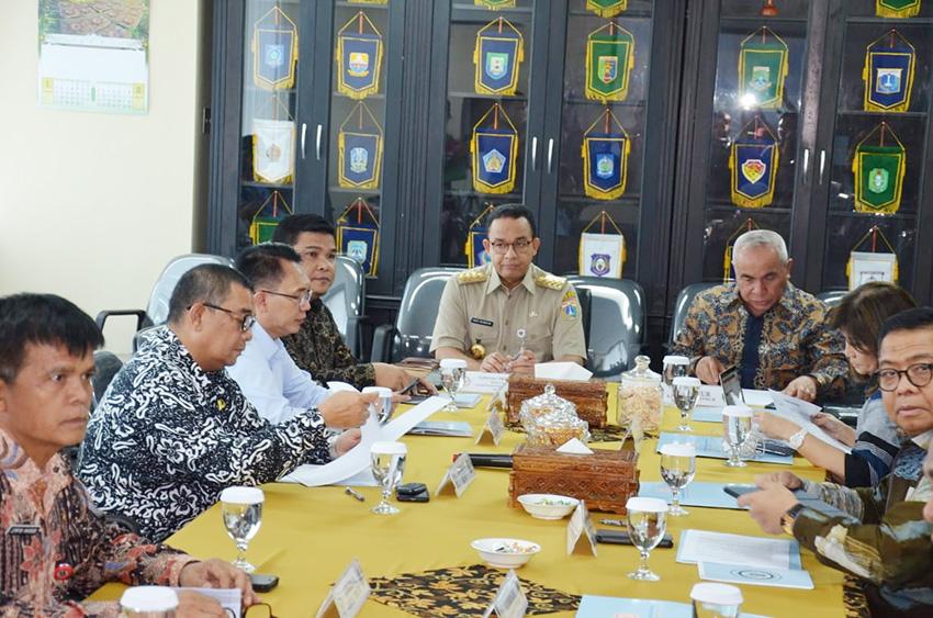 Rapat Perdana APPSI, Soal DBH Sawit Ikut Dibahas