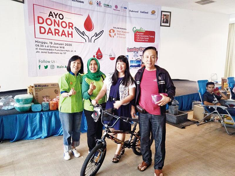 Awal Bros Pekanbaru Gelar Donor Darah