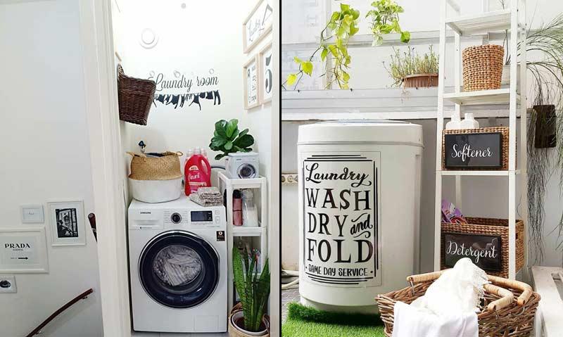 Laundry Room Cantik Bikin Semangat