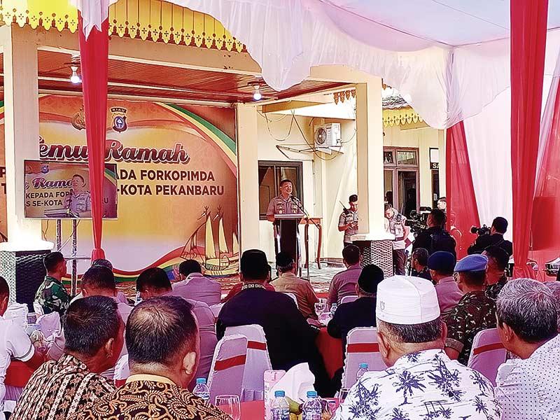 Command Center Dukung Pekanbaru Smart City Madani