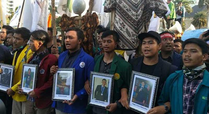 BEM SI Demo Jokowi Lagi: Kami Tak Mau Dikhianati untuk Kedua Kalinya