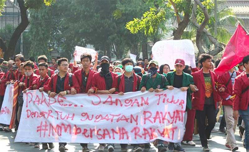 Datangi Istana, IMM Desak Presiden Jokowi Segera Terbitkan Perppu KPK