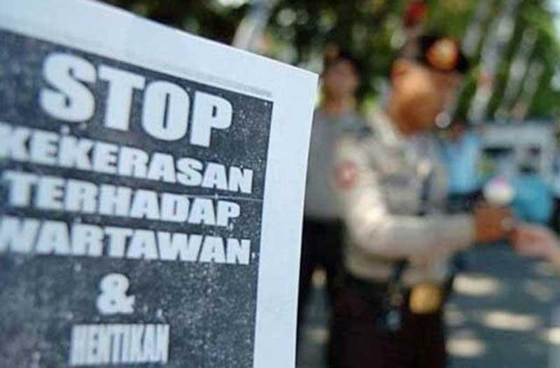 Wartawan Diintimidasi Saat Liput Demo DPR
