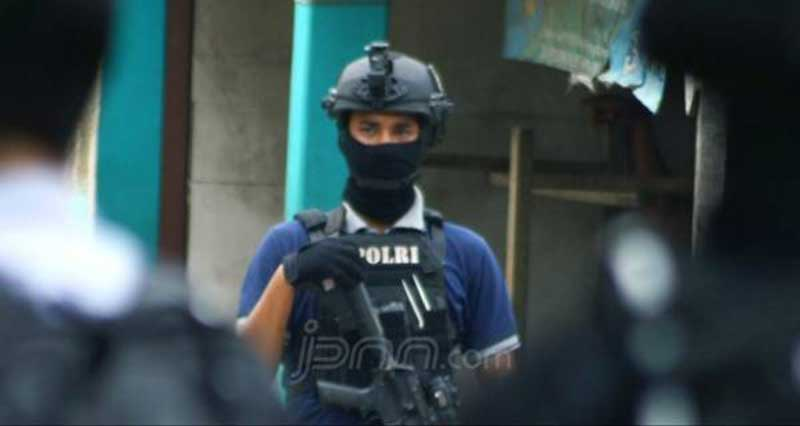 Densus 88 Antiteror Sudah Membekuk 74 Terduga Teroris