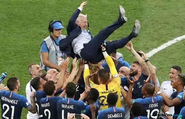 Prancis Juara, Deschamps: Kemenangan Ini Bukan karena Saya