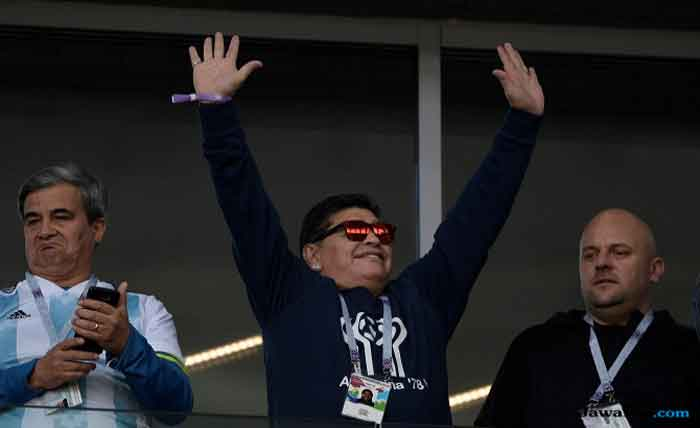 Jelang Laga Lawan Nigeria, Maradona Ingin Bertemu Messi Cs