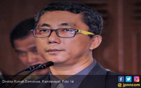 Mengejutkan! Prabowo-Sandi Unggul Atas Jokowi-Ma'ruf Versi Survei Rumah Demokrasi