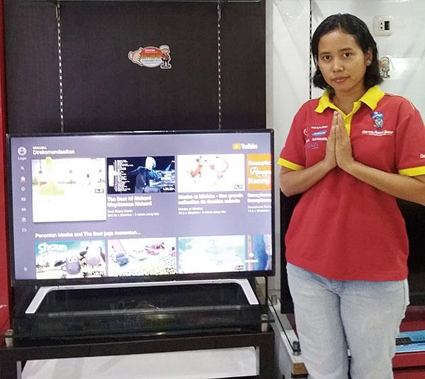 Imlek, Smart LED TV Toshiba Turun Harga