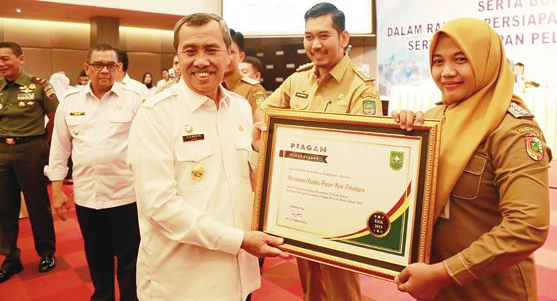 Rumbai Pesisir Raih Peringkat Tiga Se-Riau