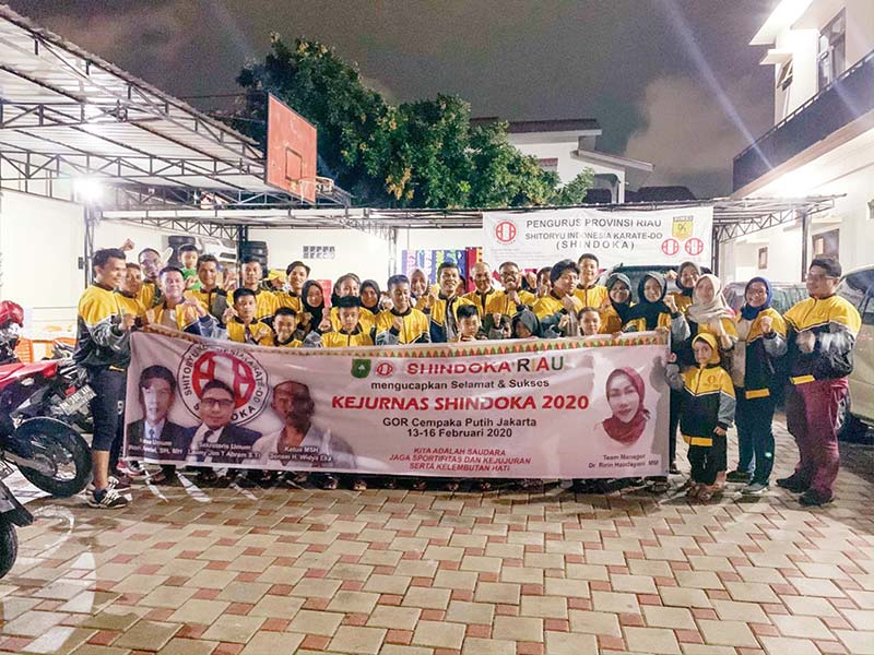 Shindoka Riau Utus Atlet Bertanding di Kejurnas