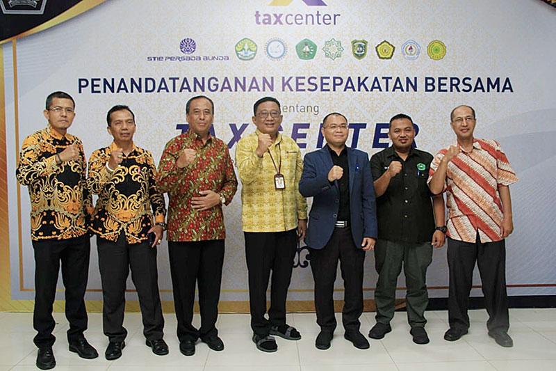 DJP Riau-Perguruan Tinggi Jalin Kerja Sama