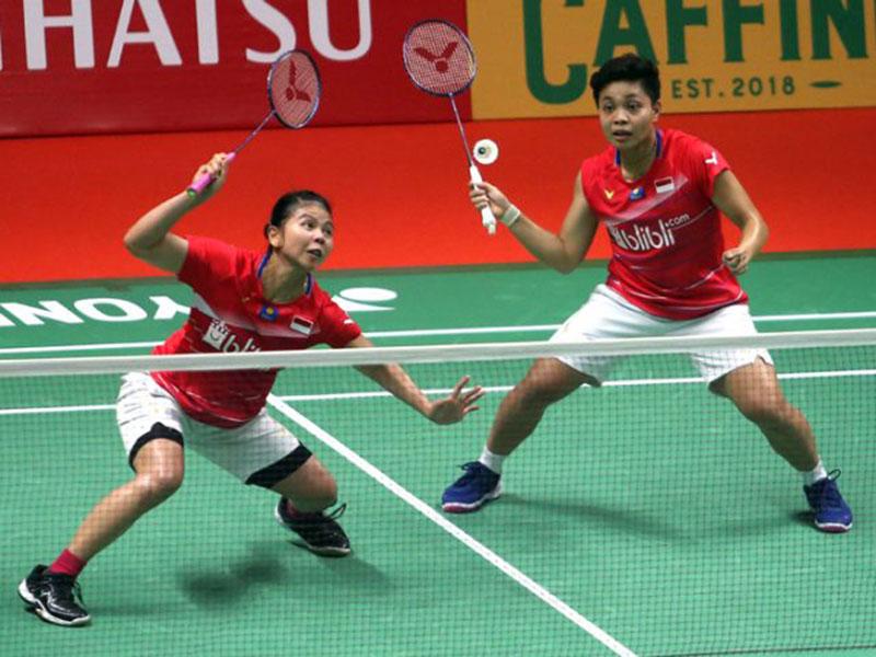 Ganda Putri Nomor 1 Indonesia Menembus Final