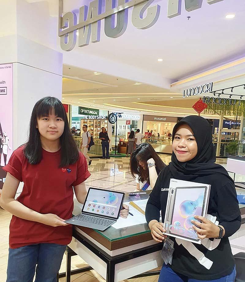 Samsung Tab S6 Cashback Rp500 Ribu