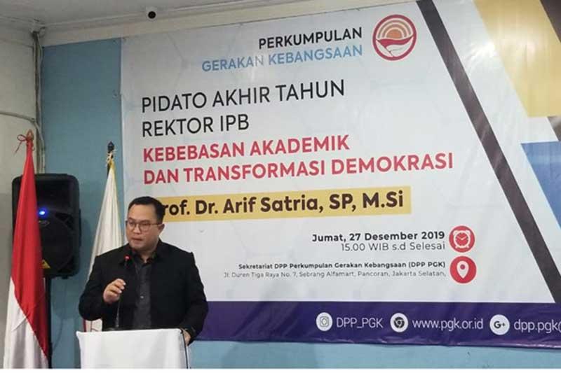Rektor IPB: Kampus Harus Demokratis