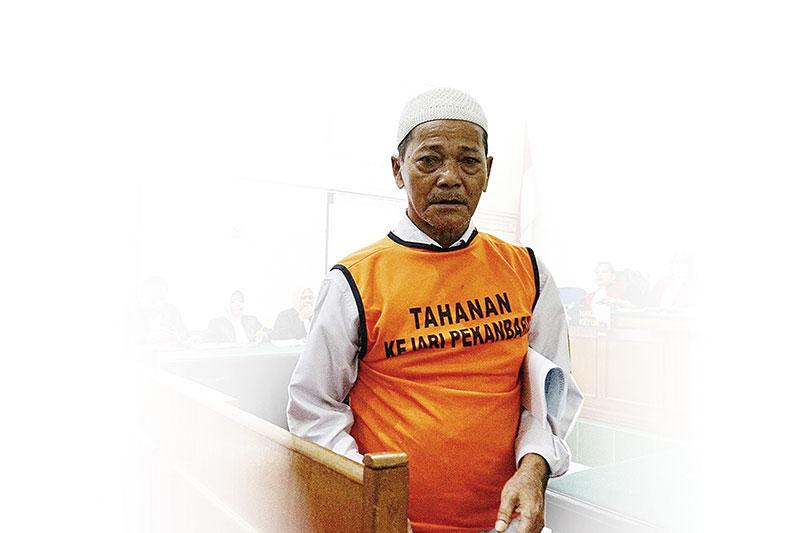 Kakek Syafrudin Berharap Keadilan Majelis Hakim