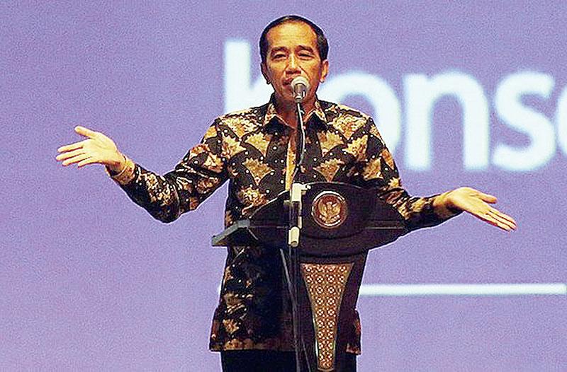 Realisasi Belanja Modal Seret Jokowi