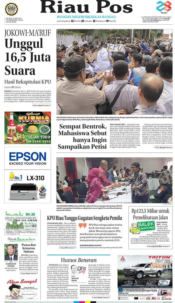 Edisi 21 Mai 2019