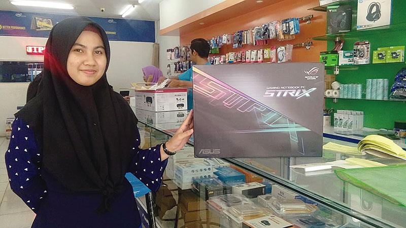 Asus TUF FX505DT R5586R Laptop Gaming Harga Bersaing