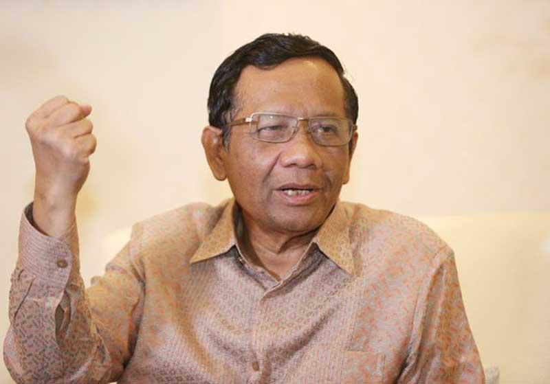 Mahfud MD: Penetapan Tersangka Sudarto Memenuhi Syarat