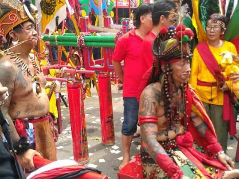 Tatung, Pengusir Roh Jahat dalam Perayaan Cap Go Meh