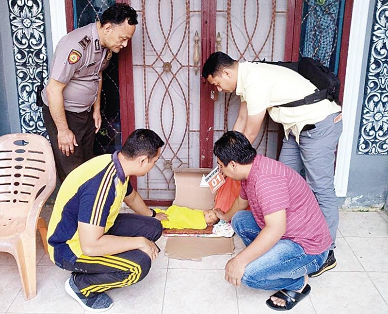 Polisi Cari Orang Tua Pembuang Bayi