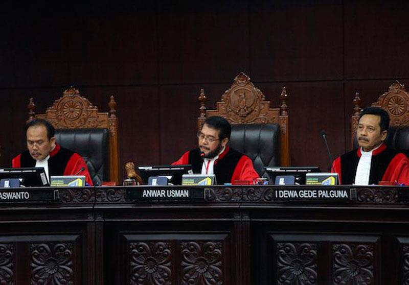Presiden Terima 3 Nama Bakal Calon Hakim MK