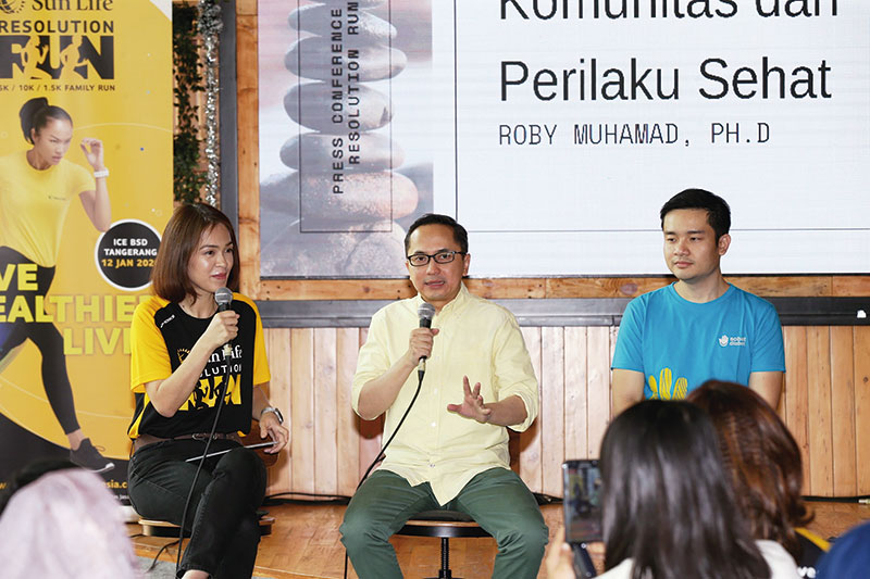 Lawan Diabetes dengan Sun Life Resolution Run 2020
